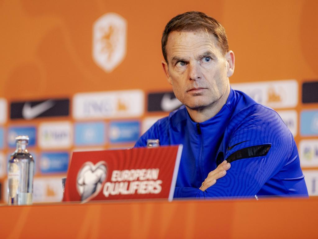 Niederlande-Teamchef Frank de Boer verzichtet bei der EURO auf Altstar Arjen Robben