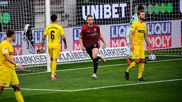 Der FC Ingolstadt jubelte dreifach gegen den VfL Osnabrück