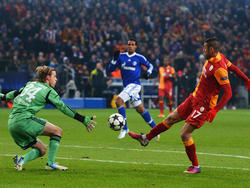 Ronaldo auf den Fersen