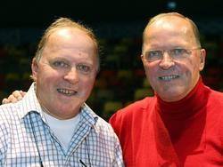 Gebroeders Van der Kerkhof tijdens Circus Africa Amsterdan. (23-11-2007)