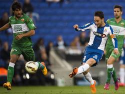 Sergio García erzielte gegen Elche ein echtes Traumtor
