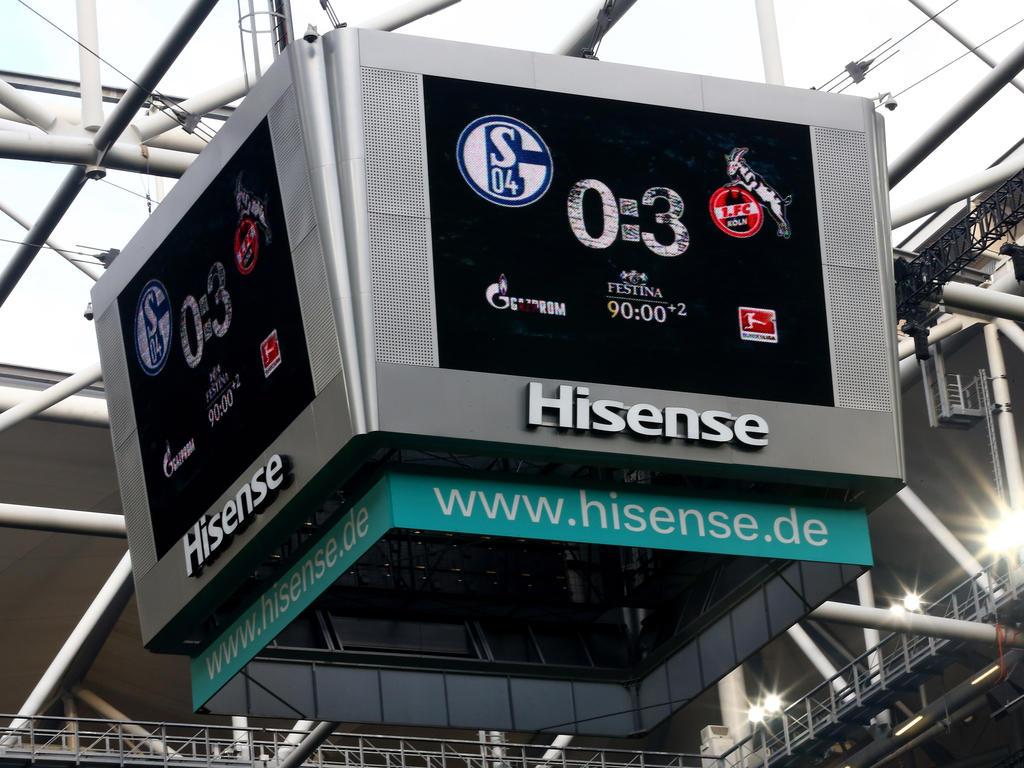 Schalke Videowürfel