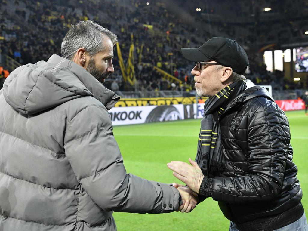 Marco Rose und Peter Stöger treffen am Donnerstag wieder aufeinander