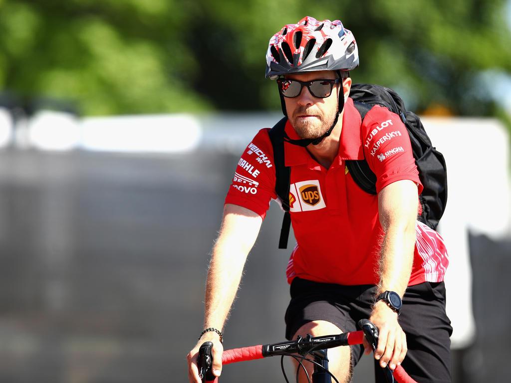 Überaus bodenständig: Sebastian Vettel