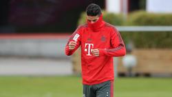James Rodríguez steht dem FC Bayern mehrere Wochen nicht zur Verfügung