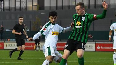 Lars Stindl traf per Volleyschuss zum 1:0 für die Borussia