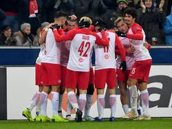 Salzburg jubelt gegen Leipzig