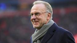 Karl-Heinz Rummenigge sprach die Bayern-Profis direkt an