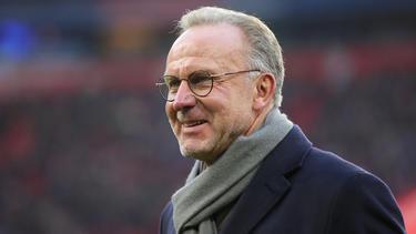 Karl-Heinz Rummenigge geht mit dem FC Bayern neue Wege