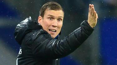 HSV-Trainer Hannes Wolf führt mit seinem Team die Tabelle der 2. Liga an