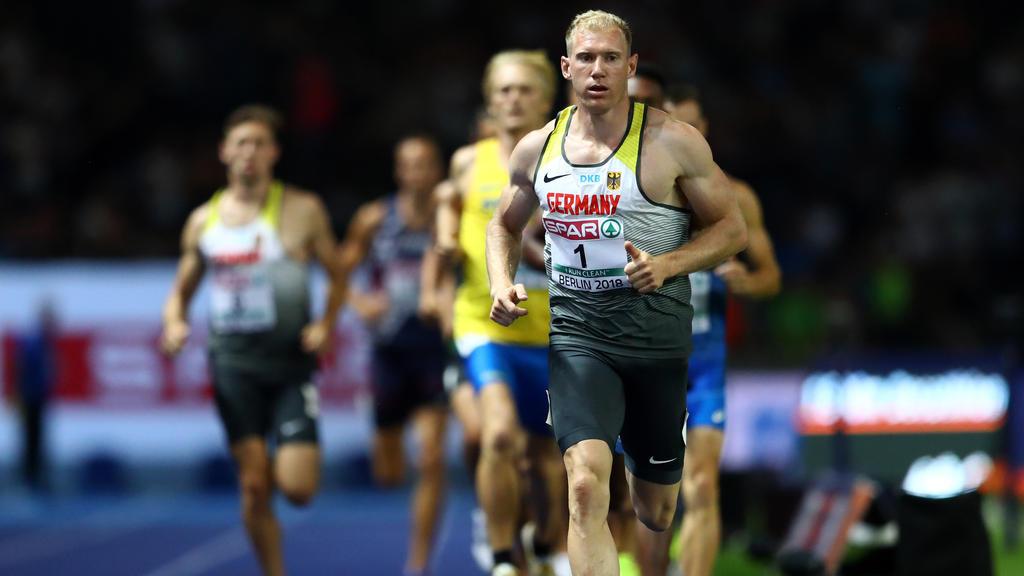 Arthur Abele ließ beim abschließenden 1500m-Lauf nicht anbrennen