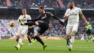 Real Madrid konnte das Topspiel gegen Sevilla für sich entscheiden