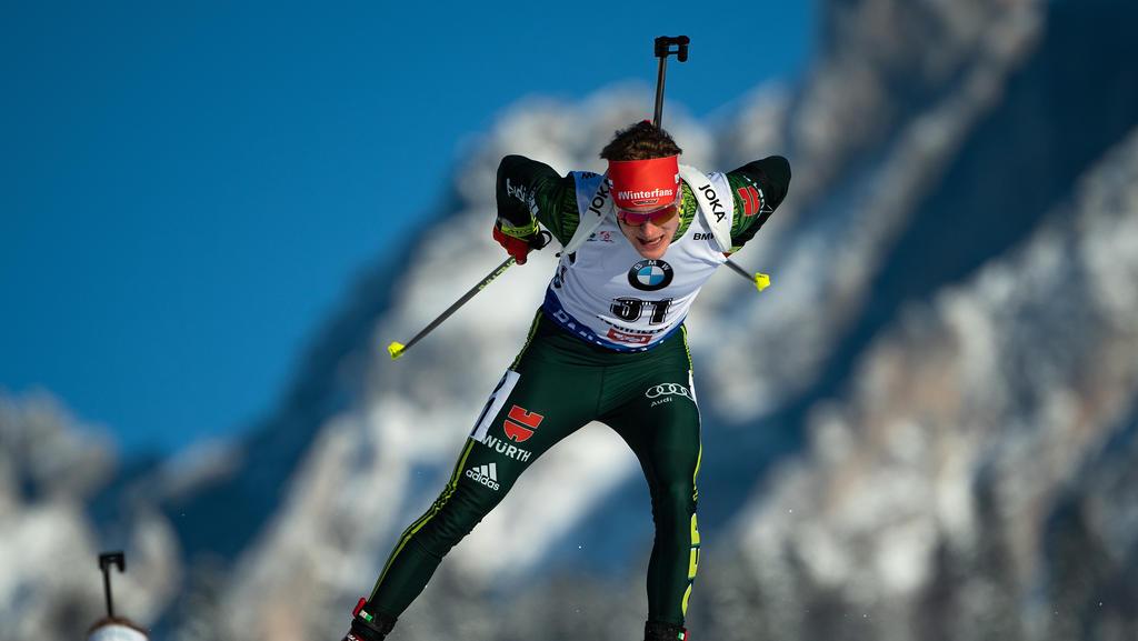 Benedikt Doll wurde im Sprint von Oberhof Vierter