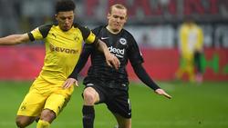 Sebastian Rode (re.) wurde beim BVB nicht glücklich