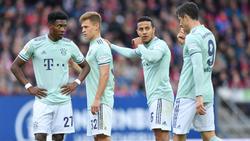 Drei Bayern-Profis droht eine Sperre im Saisonendspurt