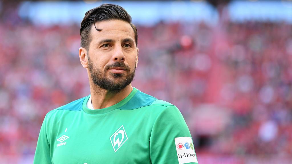 Claudio Pizarro hat seinen Vertrag beim SV Werder um ein weiteres Jahr verlängert