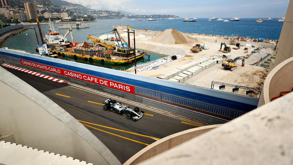 Mercedes bleibt auch in Monaco eine Klasse für sich