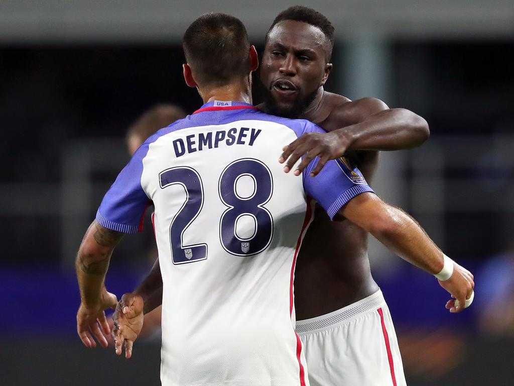 Clint Dempsey schoss sein 57. Tor für die USA