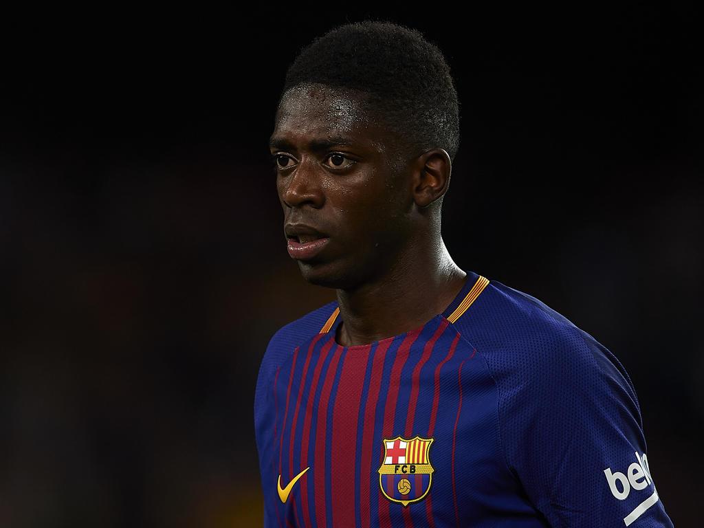 Ousmane Dembélé könnte Anfang Januar wieder für Barca spielen