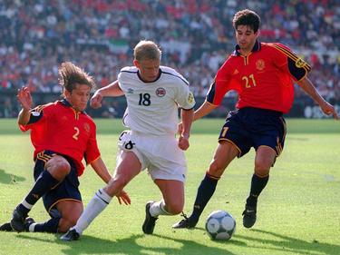 Steffen Iverson marcó el gol de la victoria de Noruega.