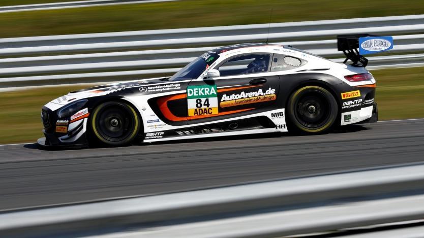 Maximilian Götz gewann das vorletzte Saisonrennen des ADAC GT Masters