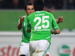 Chris mit seinem ersten Treffer für den VfL