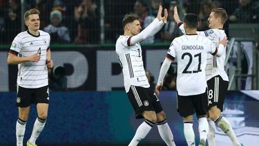 Die DFB-Elf setzte sich mit 4:0 gegen Weißrussland durch