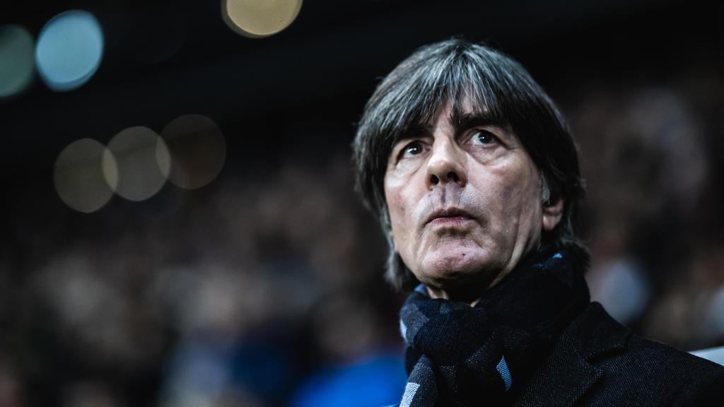 Joachim Löw blickt auf ein schwieriges Jahr zurück