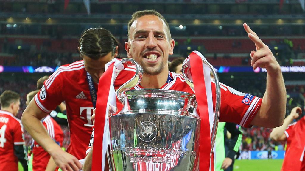 Gewann mit dem FC Bayern 2013 die Champions League: Franck Ribéry