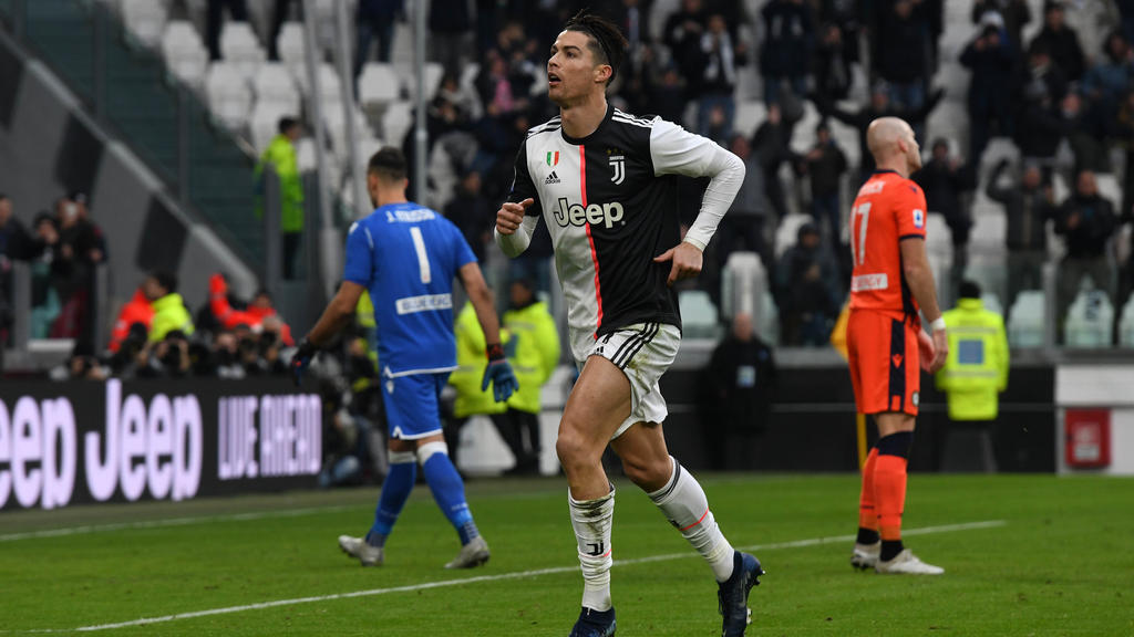 Cristiano Ronaldo F U00fchrt Juventus Turin Zum Sieg Inter Patzt