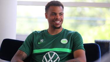 Lukas Nmecha ist auch wegen Mark van Bommel zum VfL Wolfsburg zurückgekehrt