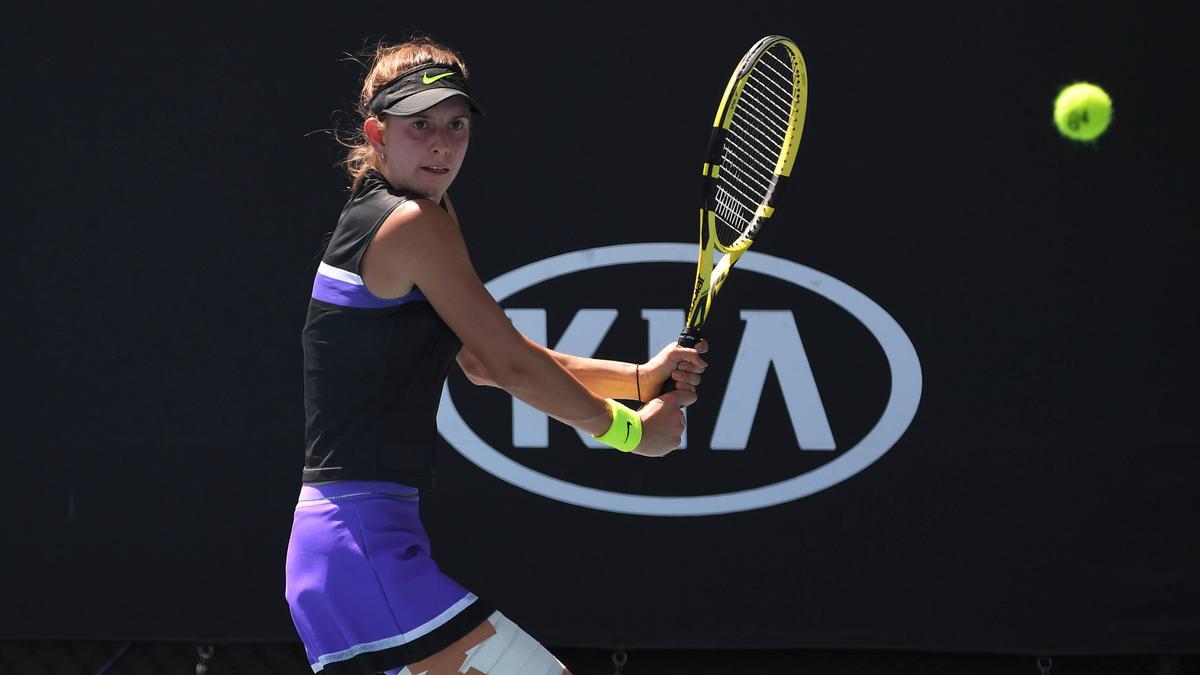Alexandra Vecic musste sich im Halbfinale geschlagen geben