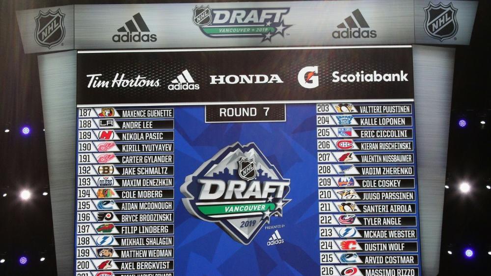 Der NHL-Draft wurde auf unbestimmte Zeit verschoben