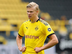 BVB-Jungstar Erling Håland war nach dem Sieg gegen Schalke 04 kurz angebunden