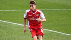 Maciejewski erzielte diese Saison zwölf Tore für die U19