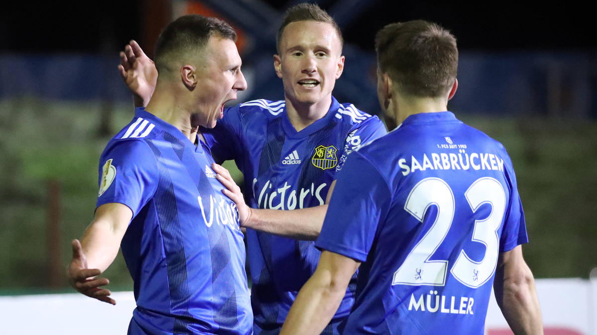 Der 1. FC Saarbrücken hofft auf das nächste Pokal-Wunder
