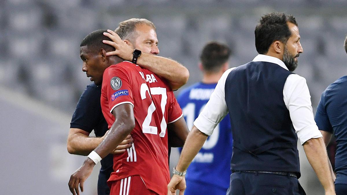 Hansi Flick will David Alaba unbedingt beim FC Bayern halten