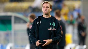 Mühte sich mit Werder in die 2. Runde: Florian Kohfeldt