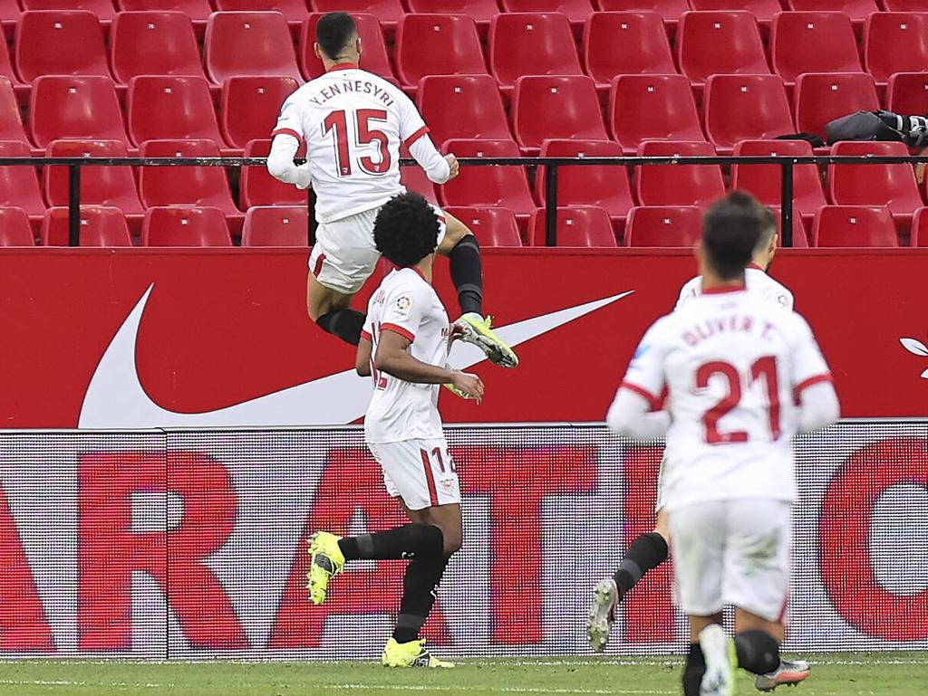 Youssef En-Nesyri está enamorando a los ojeadores rivales con sus tantos.