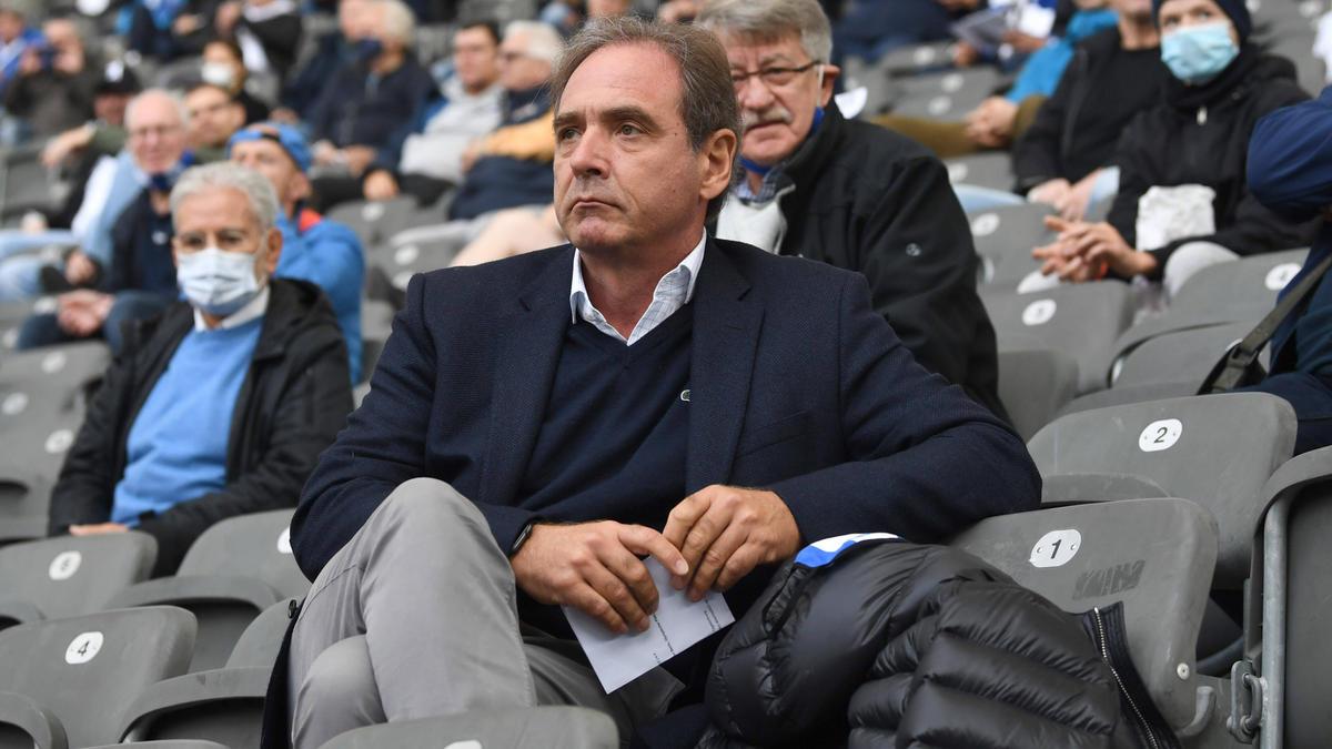 Carsten Schmidt ist Vorsitzender der Geschäftsführung bei Hertha BSC