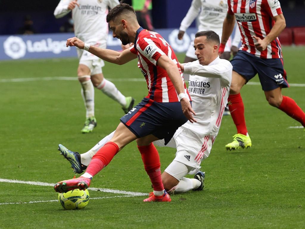 Punkteteilung im Madrider Derby