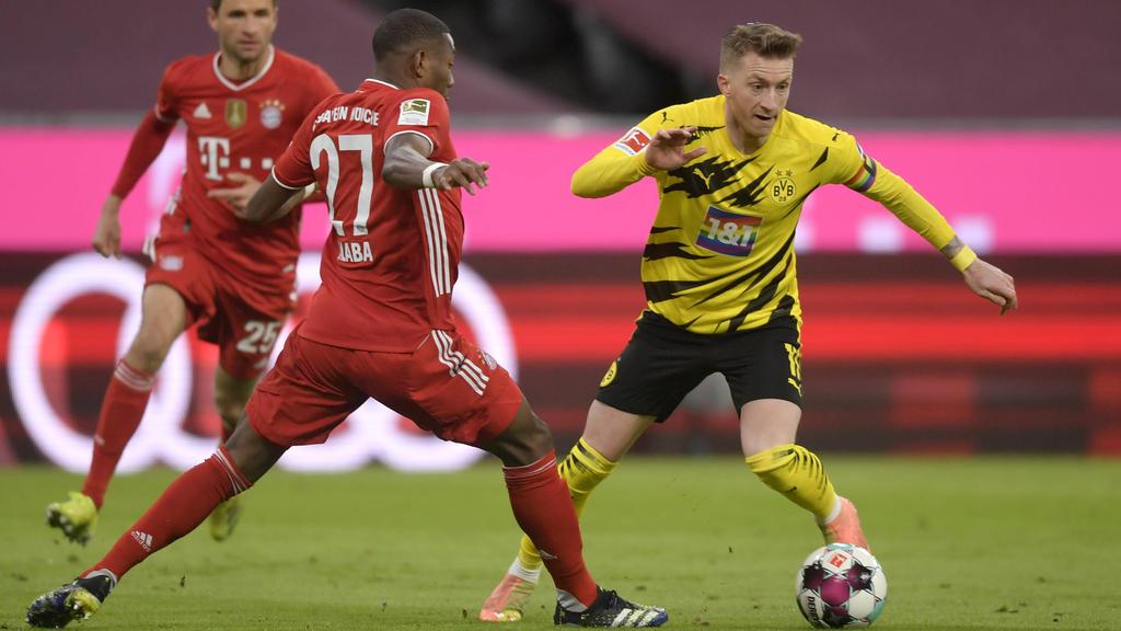 BVB-Kapitän Marco Reus war nach dem Spiel gegen den FC Bayern stinksauer