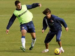Trainingsspielchen bei Real Zaragoza