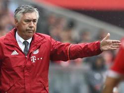 Carlo Ancelotti ist überrascht von der Hertha