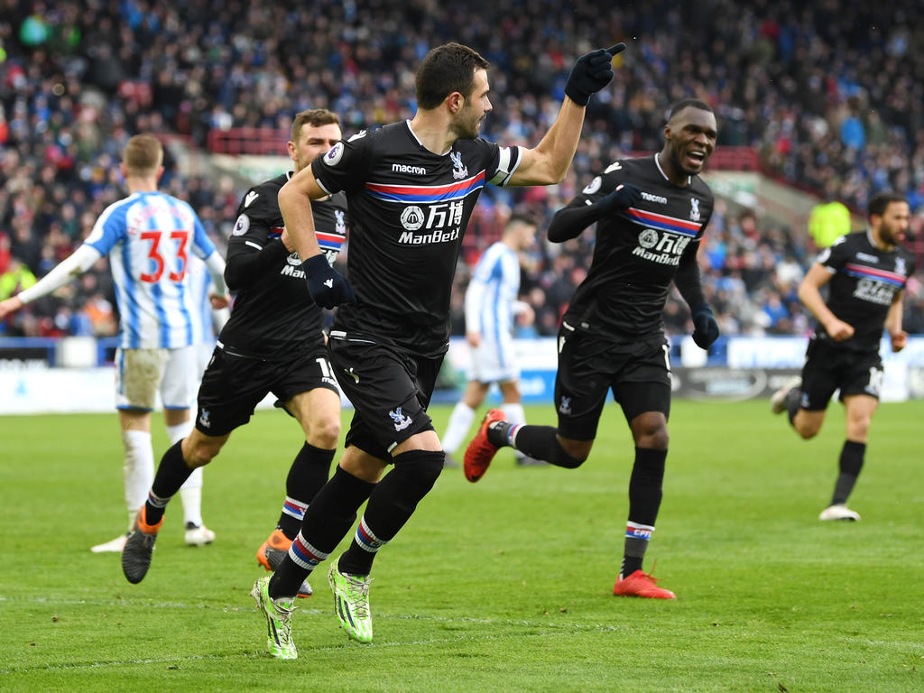 Crystal Palace jubelt in Huddersfield