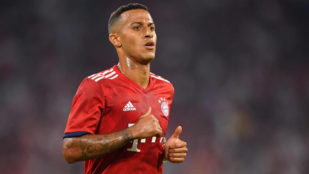 Thiago kann die Bayern angeblich für 70 Millionen Euro verlassen