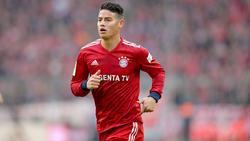 James spielt seit 2017 für den FC Bayern München
