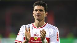 VfB-Stuttgart-Angreifer Mario Gomez trifft gerne gegen Bayer Leverkusen