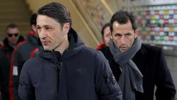 Niko Kovac war mit dem Auftritt des FC Bayern nur bedingt zufrieden