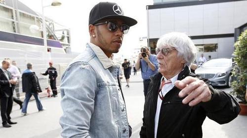 Bernie Ecclestone warnt die Formel 1 vor Lewis Hamiltons Strahlkraft